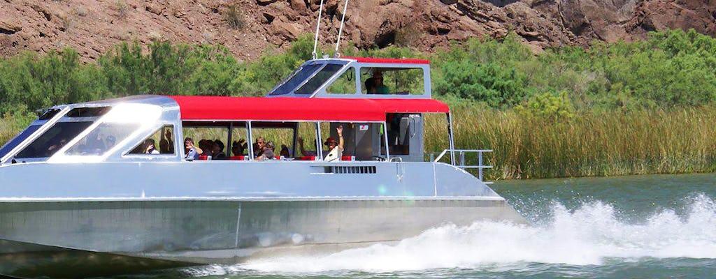 Tour en lancha motora por el río Colorado