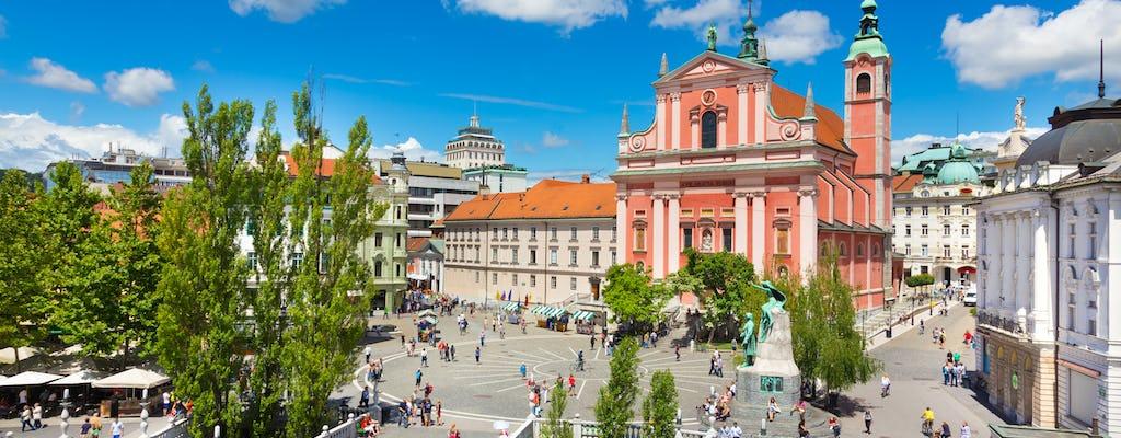 Stadtrundgang durch die Altstadt von Ljubljana