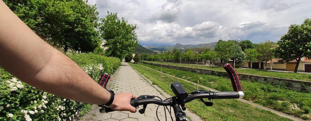 Private Sofia city tour by bike