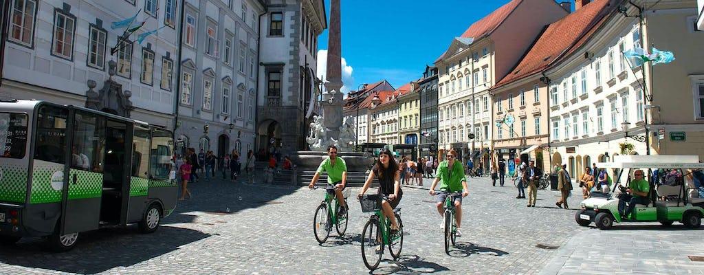 Exploring Ljubljana by bike