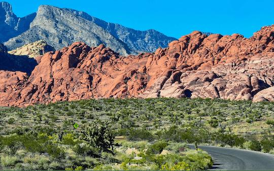 Trasa po Red Rock Canyon