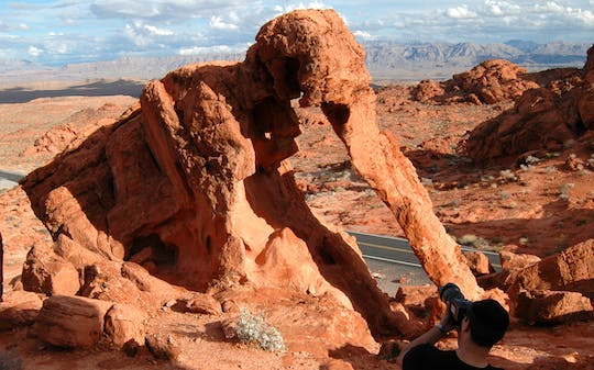 Valley of Fire tour from Las Vegas with visit to the Lost City Museum