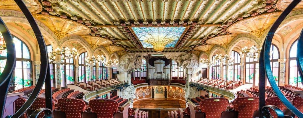 Visita autoguiada al Palau de la Música Catalana