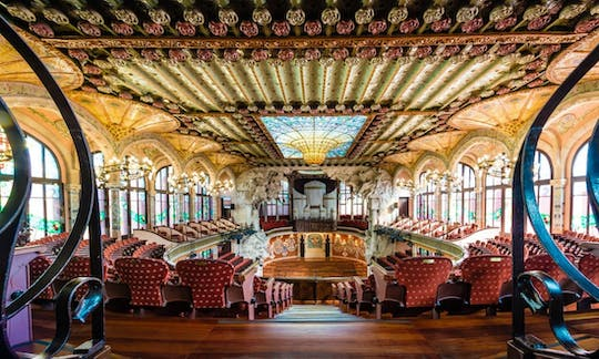 Self-guided visit of Palau de la Música Catalana