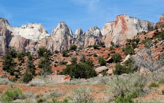 Trasa Zion National Park z Las Vegas