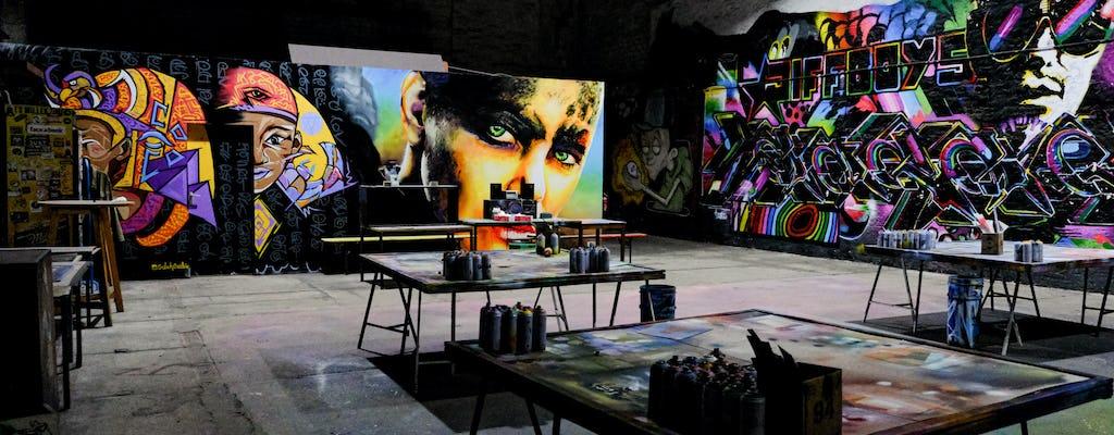 Berlin street art walking tour with workshop