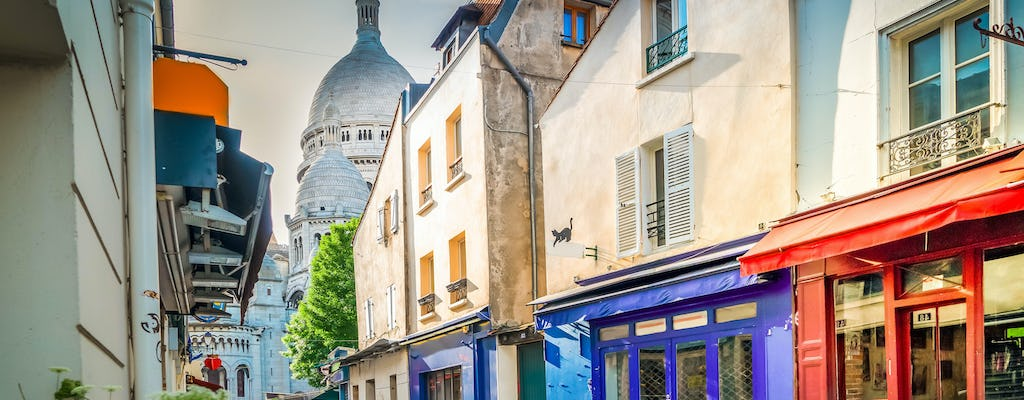 Montmartre's little train roundtrip tour