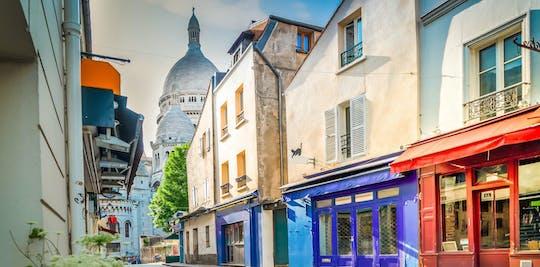 Montmartre's rondrit door de kleine trein