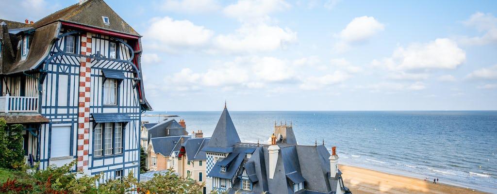 Deauville's little train tour