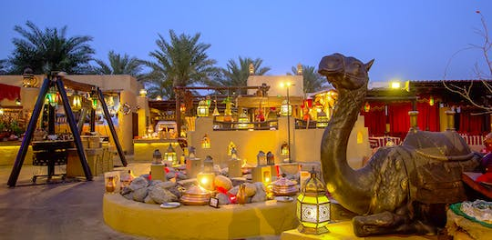 Dinner at Al Hadheerah Bab Al Shams Desert Resort from Dubai