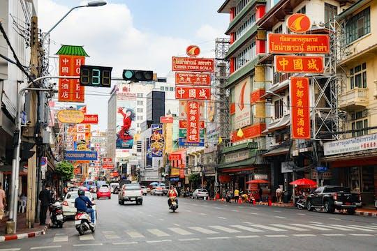 Tour y juego de exploración de tesoros de Chinatown en Bangkok