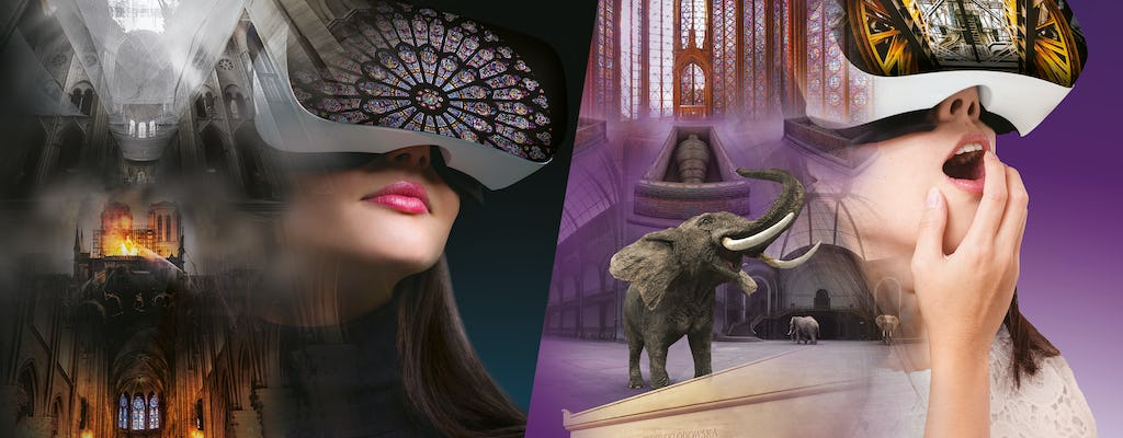 Pack Paris Secret, virtual reality experience