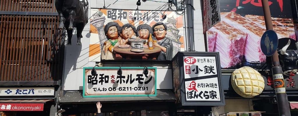 Alimentos japoneses populares de Osaka originam jogo e turnê pela cidade