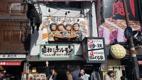 Osaka popular Japanese foods origins city game and tour