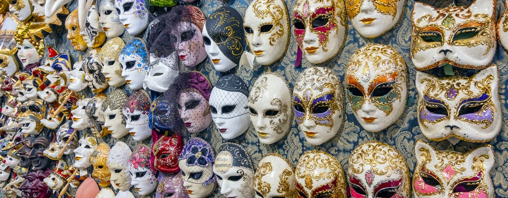 Paint your own mask workshop in Venice