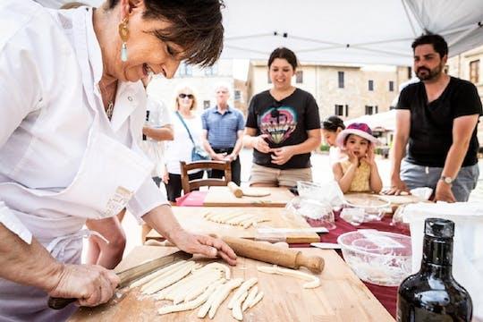 Урок тосканской кухни в Вальдичиане Сенесе