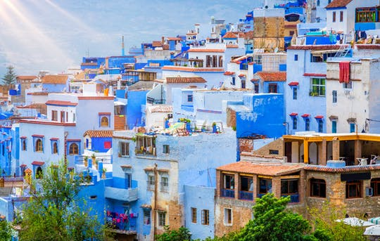 Day trip to the Blue Town of Chefchaouen from Fez