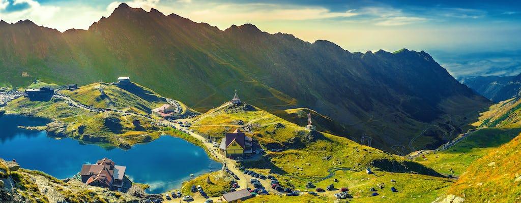 Hiking tour in the Carpathian Mountains