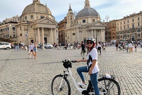 Экскурсия на электронном велосипеде по главным достопримечательностям Рима