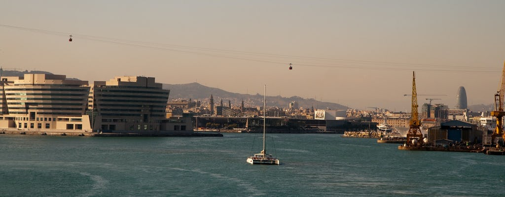 Crucero de jazz al atardecer en Barcelona