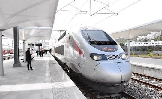 Tanger jednodniowa wycieczka szybkim pociągiem z Casablanki