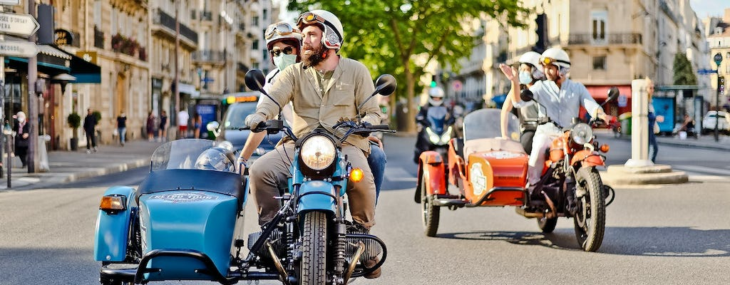 Tour vintage di Parigi in sidecar