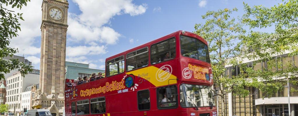 Passeio de ônibus panorâmico por Belfast