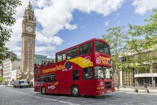 Hop-on hop-off bus tour of Belfast