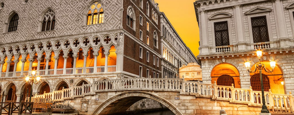 Secret itineraries skip the line tour at Prison's Palace in St.Mark's Square
