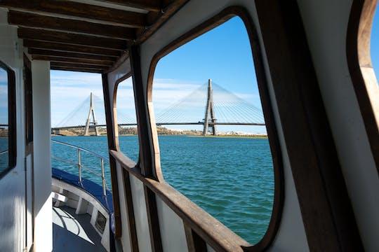 Bootsfahrt auf dem Fluss Guadiana
