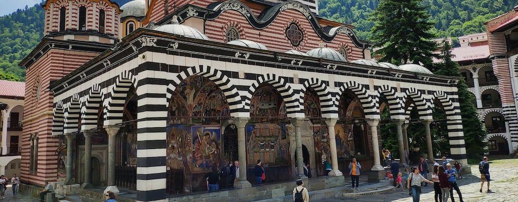 Visita autoguiada en el monasterio de Rila