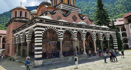 Visita autoguiada no Mosteiro de Rila