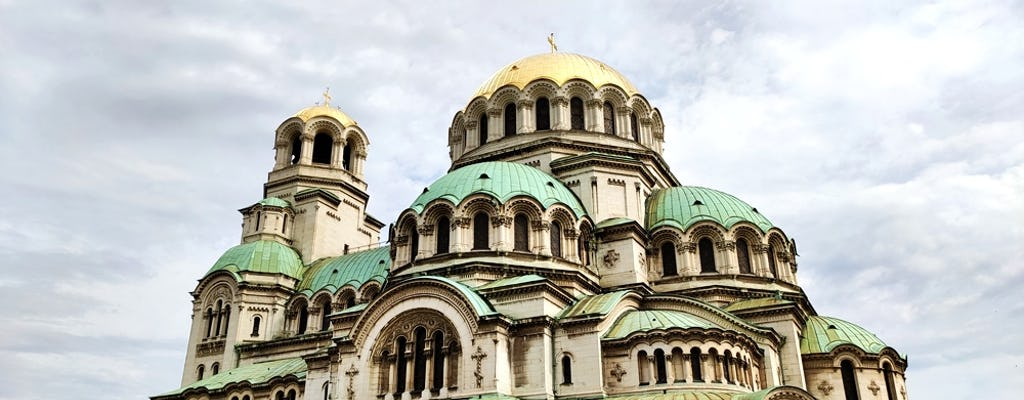 Explore Sofia on a double-decker bus tour