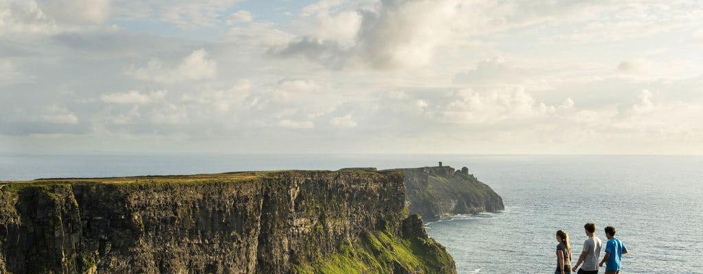 Acantilados de Moher, Burren y Galway desde Dublín