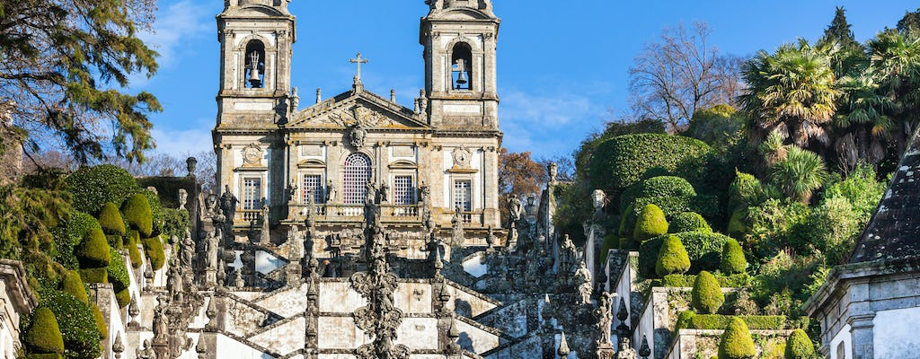 Guided tour of the heart of Portugal Braga and Guimarães from Porto
