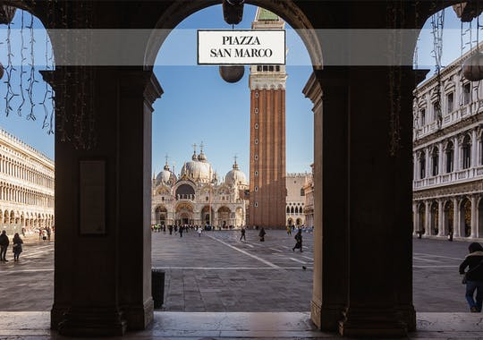 Doge's Palace and St. Mark's Basilica: audio guide and skip the line ticket