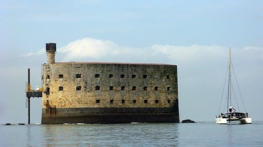 Fort Boyard Segelkreuzfahrt auf einem Katamaran von La Rochelle