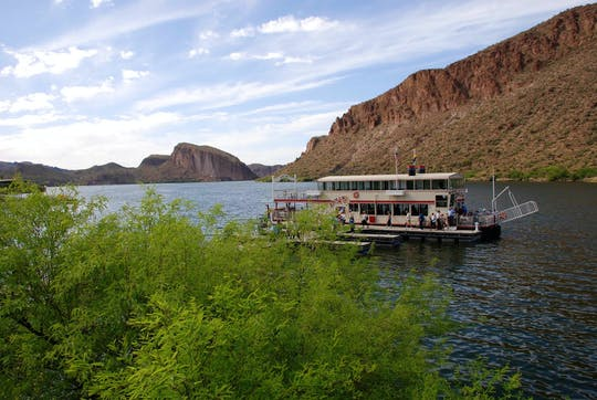Private day tour of Apache Trail, Goldfield Ghost Town, Dolly Steamboat & Tortilla Flat