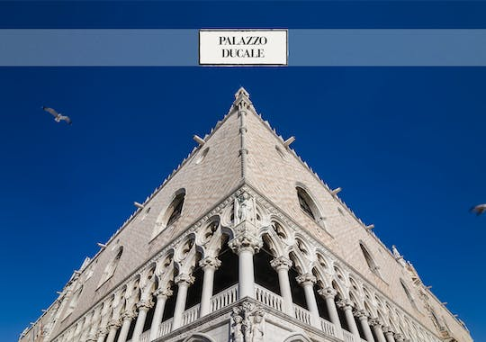 Doge's Palace skip the line ticket and guide-book