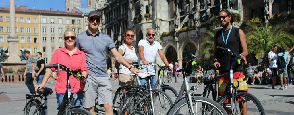 Мюнхен экскурсия по городу на велосипеде
