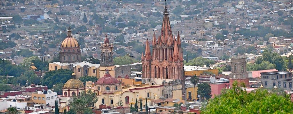 Сан-Мигель-де-Альенде экскурсия с гидом из Мехико