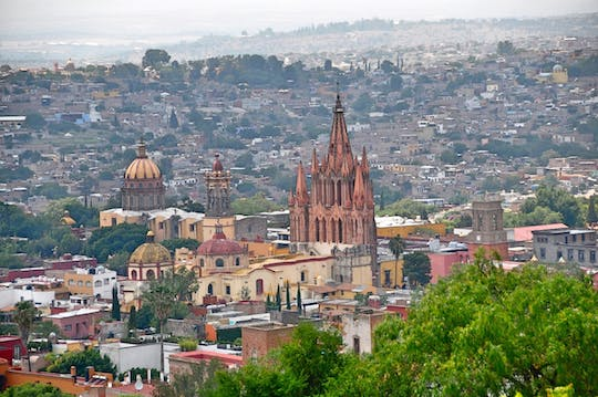 San Miguel de Allende guided tour from Mexico City