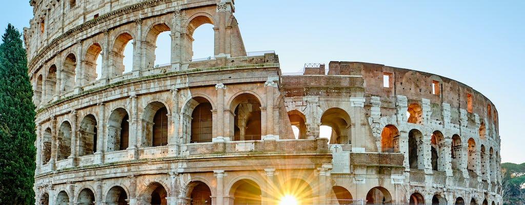 Tour in bici elettrica di Roma all'alba con colazione