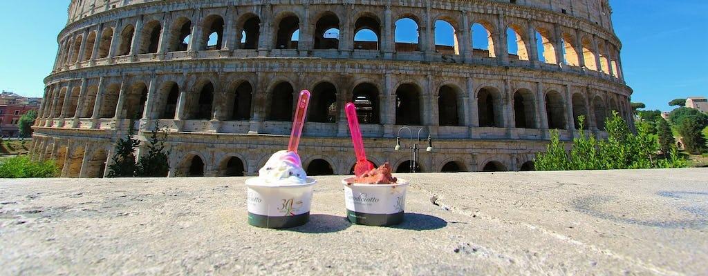 Passeio de bicicleta pela arte de rua e comida de rua de Roma