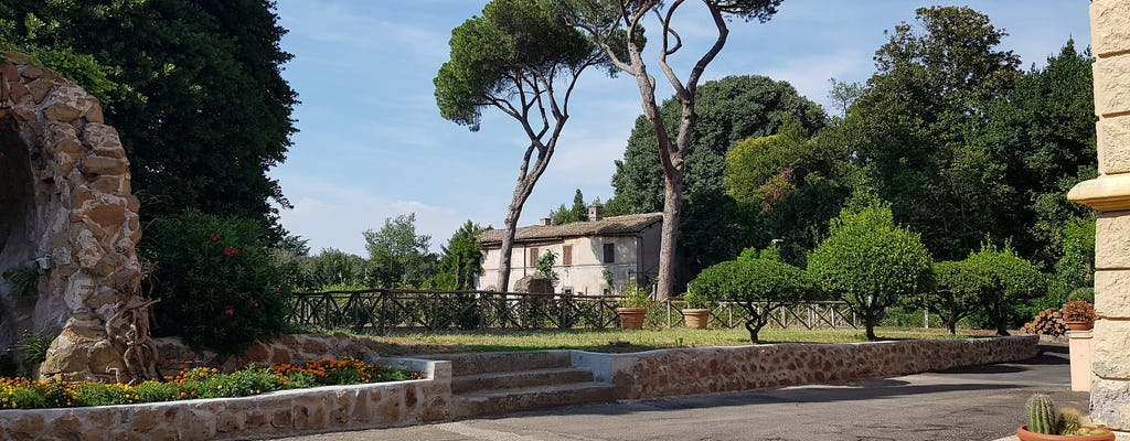 Alte Appia E-Bike Tour durch Natur und Geschichte