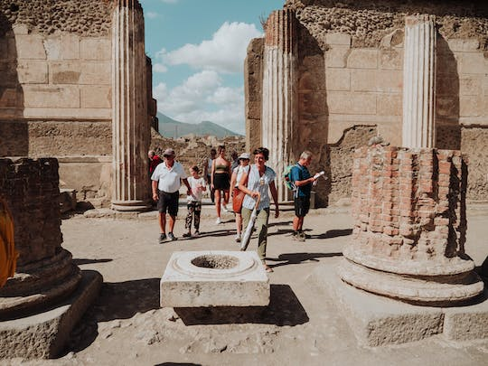 Tour of Pompeii with an archaeologist