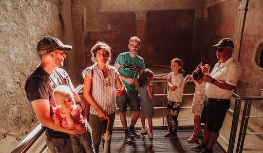 Pompeii guided tour for kids