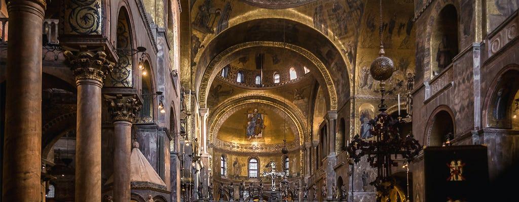 Visita guiada à Basílica de São Marcos com acesso sem filas