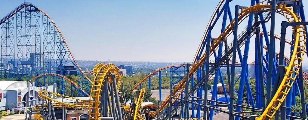 Entradas y transporte al parque de atracciones Six Flags
