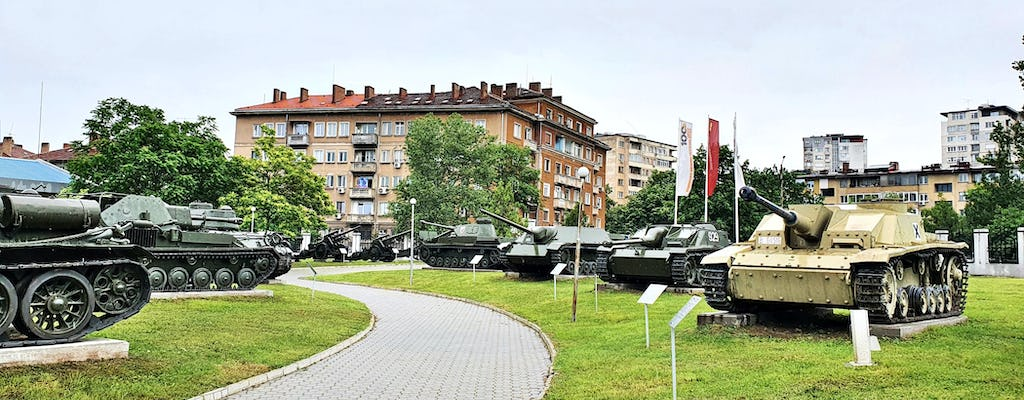 Self-guided tour in the National Museum of Military History in Sofia
